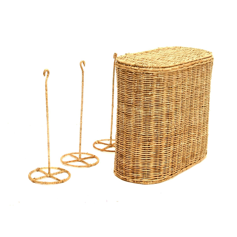 grand range rouleaux papier toilette madame panier. Black Bedroom Furniture Sets. Home Design Ideas