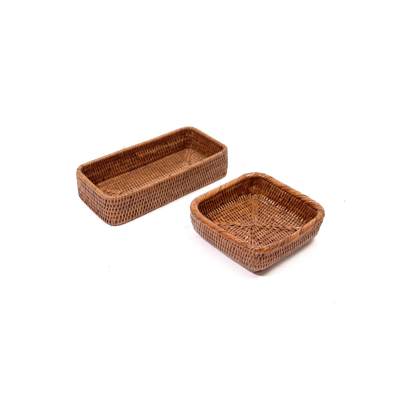 plateau salle de bain brun fonc madame panier. Black Bedroom Furniture Sets. Home Design Ideas