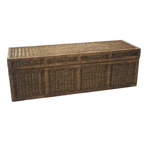coffre bout de lit madame panier. Black Bedroom Furniture Sets. Home Design Ideas